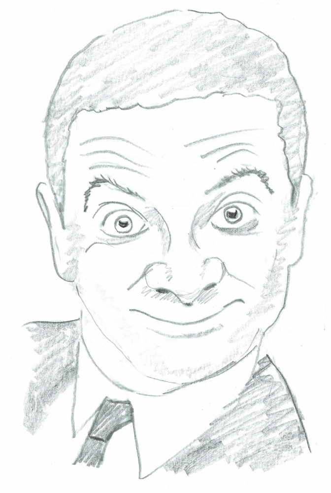 Rowan Atkinson by brainfree